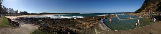 blackheadbeachpanorama