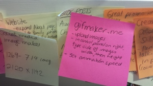 Post it notes - right